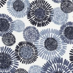 Pacific fabrics -- indigo cote d'azur denim