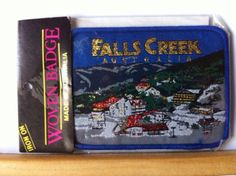 Souvenir Cloth Patch / Badge - Falls Creek Australia in Collectables | eBay • sold for $9.50