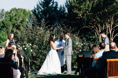 Natural Ceremony Site & Bold Florals | Camp Lucy | Ian's Chapel | Luxe Photography