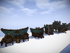 Swamp Houses Building Bundle