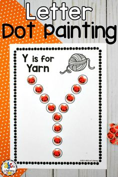 Letter Dot Painting
