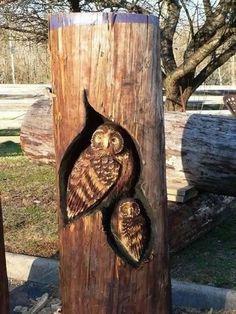 Wood Carvings by Randall D. Boni