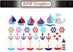 Nautical Sailboats and Ships Clip-art Set in a PNG format. Personal & Small Commercial use Png Format, Sailboats, Clipart Images, Nautical, Commercial, Ships, Clip Art, Invitations, Digital