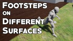 How to use physical materials and character animations to change the way footsteps sound based on which surface the player is on. Topics covered: Animation n. Animation Reference, Art Reference, Mobile Project, Video Game Development, Game Engine, Unreal Engine, Game Assets, Visual Effects, Art Tips