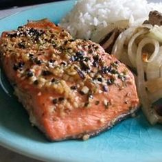 "Miso Salmon I ""What a fantastic and different way to do salmon!"""