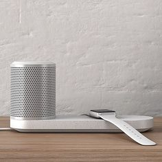 The demand for stylish home accessories with built-in induction charging is set to boom according to London studio Blond, which has created a portable cylindrical speaker that comes with a wireless charging tray. Read the full story on dezeen.com/technology #design #technology