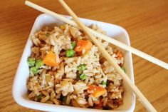 Better Than Take-Out Fried Rice -  This rice is so so good.  I get a hankering for take out fried rice frequently, so I love that now I can make it at home and have it anytime I want.
