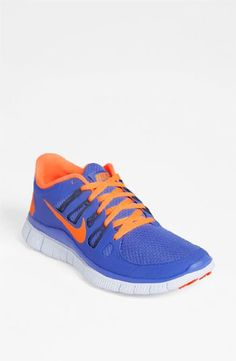 46b7410beb4f SALE Nike Lady Free 5.0+ Running Shoes - 6 - Blue Nike Shoes Cheap