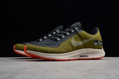 new arrival 5b207 4471a Nike Air ZM Pegasus 35 Shield Olive Flak/Metallic Silver AA1643-300