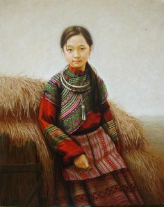 Kai Fine Art is an art website, shows painting and illustration works all over the world. Hanoi, Embroidery Art, Plaid Scarf, Fine Art, Illustration, Painting, Women, Fashion, Artists