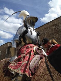 Tobias Capwell 1530s Joust Tower of London 2015
