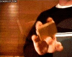 Because everyone can start fire with just the flick of a hand, right? Right?! | 15 GIFs That Can Only Be Explained By Magic