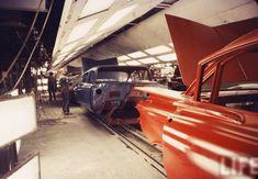 vintage chevrolet assembly line photos ile ilgili görsel sonucu Line Photo, Assembly Line, Chevrolet, Chevy, Classic Cars, Photos, Vintage, Antique Photos, Bicycles