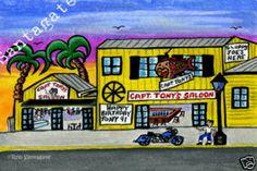 Cool Funky Key West Art