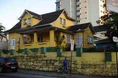 Pancho: Casa amarela será demolida no Centro de Blumenau Patrick Rodrigues/Agencia RBS