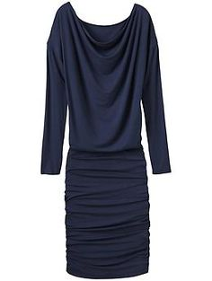 Solstice Cowl Dress - A gorgeously draping, cowl-neck top and fitted skirt makes this the one dress you need to look utterly effortless.