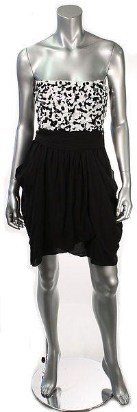 ALICE + OLIVIA MARGARET STRAPLESS SEQUIN DRESS Size 2, 6  Retail: $484  PlushAttire.Com Price: $155.90  68% OFF RETAIL!  #fashiondeals