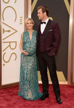 Oscars red carpet: Chris Hemsworth (and stunning wife Elsa Pataky!)