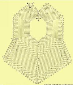 LE GATTE COI TACCHI: Schemi Bavaglini all'uncinetto Crochet Baby Pants, Crochet Bib, Newborn Crochet, Crochet Baby Booties, Crochet Dolls, Baby Knitting Patterns, Baby Bibs Patterns, Crochet Patterns, Crochet Bedspread Pattern