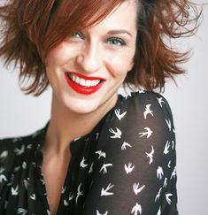 Redhead, red lips | Balibulle - Etats d'âme vestimentaires et stylistiques