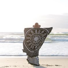 The Dreamtime - Vol 2 Roundie Beach Towel | The Beach People The Beach People, Beach Gear, Designer Kids Clothes, Summer Accessories, Baby Design, White Houses, Marseille, Beach Towel, Seaside