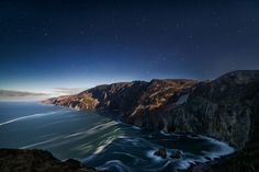 Slieve League by Moonlight Photo by Bryan Hanna -- National Geographic Your Shot