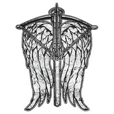 Angel Wings and Crossbow (Dirty)