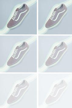 Vans Old Skool Trainers Vans Old Skool Trainers, Pastel Shoes, Powder Pink, Baby Blue, Lilac, Sneakers, Tennis, Slippers, Syringa Vulgaris