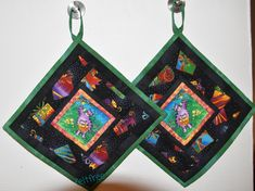 Pot Holders, Christmas Ornaments, Holiday Decor, Home Decor, Decoration Home, Hot Pads, Room Decor, Potholders, Christmas Jewelry