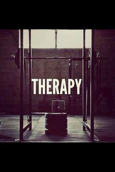 Gym therapy is the best!