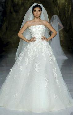 Elie Saab Wedding Dress 2014 Pronovias Bridal