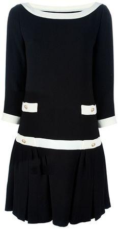 MOSCHINO Chanel Boat Dress