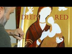 Αγιογραφία. Iconography. Painting the Maforion of Virgin Mary, toxicity of pigments and more - YouTube Orthodox Icons, Painting Videos, Religious Art, Virgin Mary, Fictional Characters, Youtube, Lds Art, Blessed Virgin Mary, Youtubers