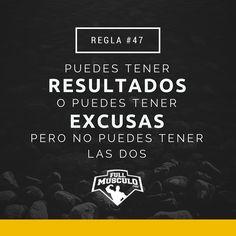 Para poder ver resultados debes olvidarte de las excusas. De lo contrario permanecerás inmóvil sin lograr tus metas