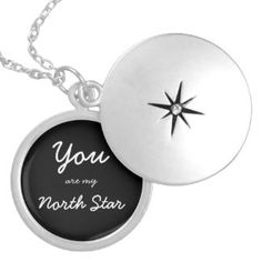 You are my North Star locket By NW42nd Designs