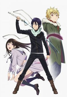Animes to look forward to - #Noragami #anime                                                                                                                                                     Plus