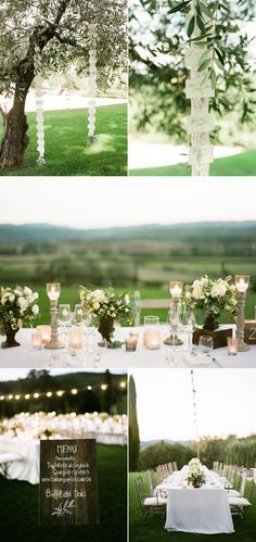 Elegant Countryside Wedding in Tuscany