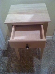 Small End Table with drawer - Kreg Jig Owners Community