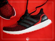Adidas Ultra Boost Solar Red - 2016 (by ILLustRAYt)