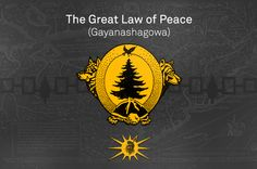 Great Law of Peace | The Great Law of Peace (Gayanashagowa)