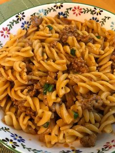 Good Food, Yummy Food, One Pot Pasta, Easy Pasta Recipes, Pasta Noodles, Pasta Dishes, Ground Beef, Pasta Salad, Kids Meals