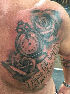 Like we've never seen a pocket watch and roses eh