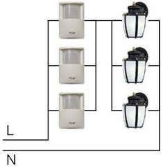 zenith motion sensor wiring diagram wiring in the home motion rh pinterest com Motion Sensor Light Wire Diagram for Outside Zenith Motion Sensor Light Wiring Diagram