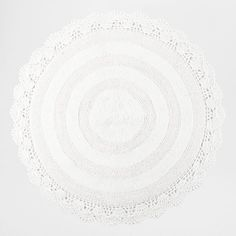ROUND CROCHET COTTON RUG - Bathmats - Bathroom | Zara Home Turkey