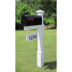 4EverProducts Post Mounted Mailbox & Reviews | Wayfair