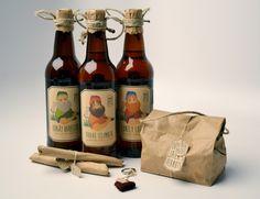 Lumber Jack beer concept — The Dieline