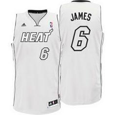 lebron james white hot heat jersey