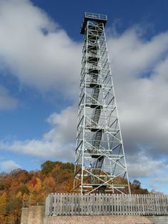 Observation Tower at Big Walker Lookout. 8711 Stoney Fork Road  Wytheville, Virginia 24382       276-663-4016. Open year-round.