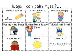 Behavior Strategies Having a Safe Zone in the classroom. Students can go their to calm down and return to their desk. Coping Skills, Social Skills, Life Skills, Behaviour Management, Classroom Management, Conscious Discipline, Behavior Interventions, School Social Work, Classroom Behavior