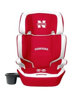 Nebraska Cornhuskers High Back Booster Seat